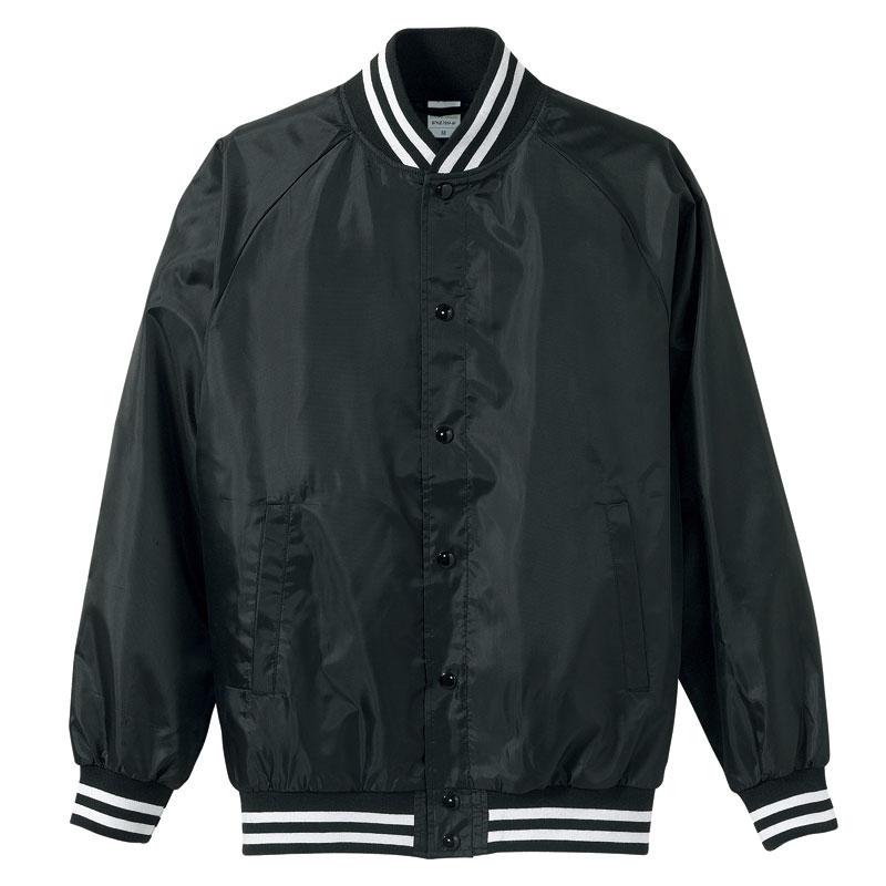 激安クラスティーシャツスタジアム ジャケット ブラック×ホワイト画像1