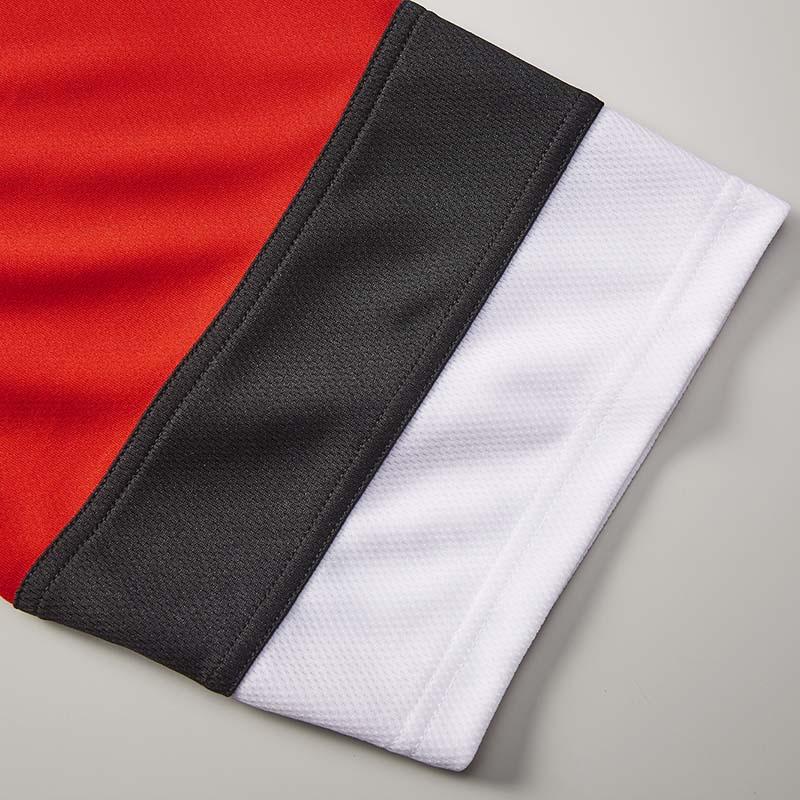 激安クラスティーシャツ4.1オンス ドライ ホッケー Tシャツ  ホワイト/ガンメタル/ブラック画像3