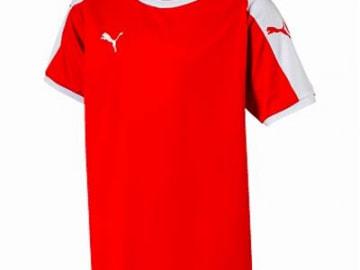 PUMA LIGA  ゲームシャツ レッド×ホワイト