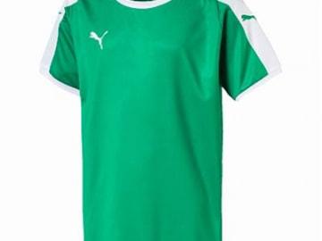 【ジュニア】PUMA LIGA  ゲームシャツ グリーン×ホワイト