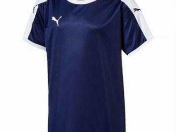 【ジュニア】PUMA LIGA  ゲームシャツ ピーコート×ホワイト