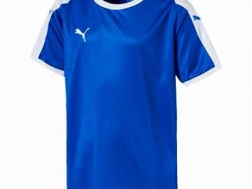 【ジュニア】PUMA LIGA  ゲームシャツ ブルー×ホワイト