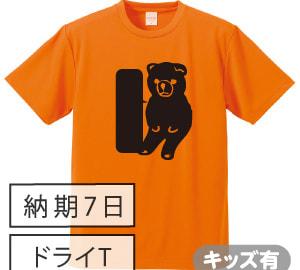 ドライ黒板Tシャツ オレンジ