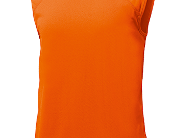 ベーシックバスケットシャツ オレンジ