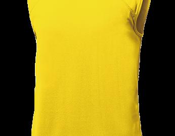 ベーシックバスケットシャツ イエロー