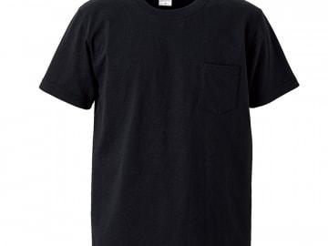 オーセンティック スーパーヘヴィーウェイト 7.1オンス Tシャツ  ブラック