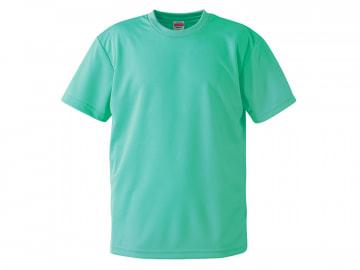 4.1オンス ドライアスレチック Tシャツ ミントグリーン