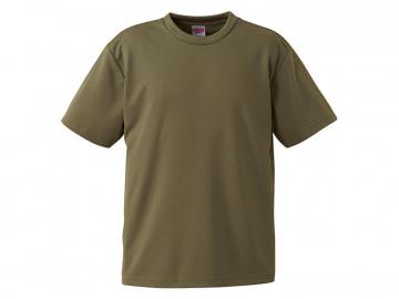 4.1オンス ドライアスレチック Tシャツ オリーブ