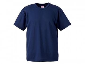 4.1オンス ドライアスレチック Tシャツ インディゴ