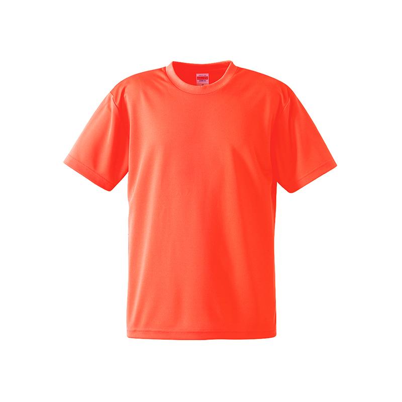 激安クラスティーシャツ4.1オンス ドライアスレチック Tシャツ オレンジ画像1