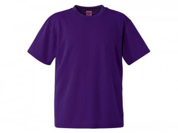 4.1オンス ドライアスレチック Tシャツ ディープパープル