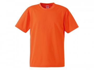4.1オンス ドライアスレチック Tシャツ カリフォルニアオレンジ