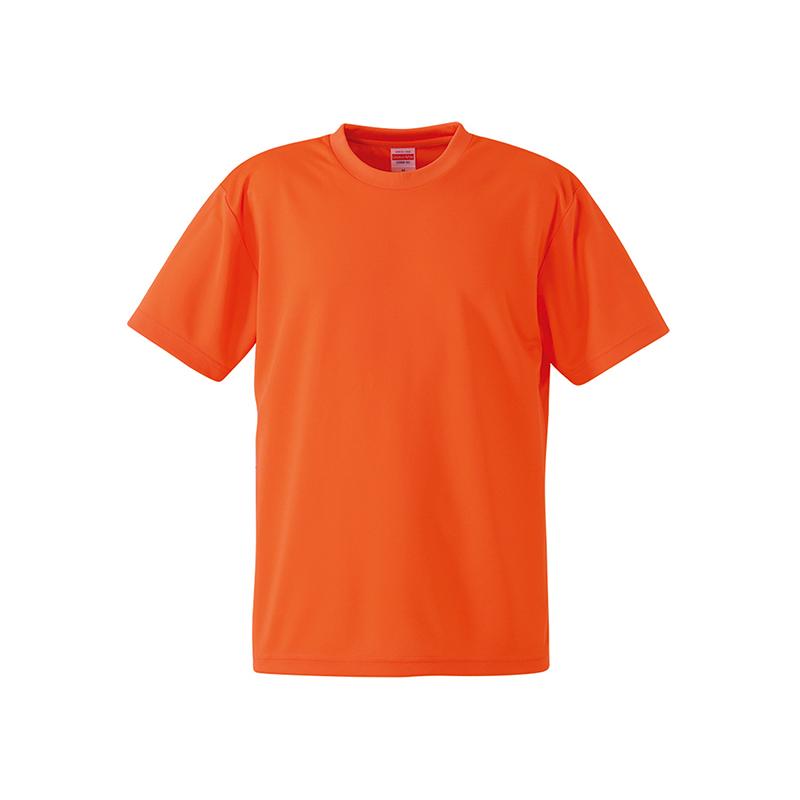 激安クラスティーシャツ4.1オンス ドライアスレチック Tシャツ カリフォルニアオレンジ画像1