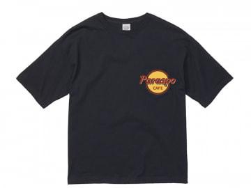 5.6オンス ビッグシルエット Tシャツ(ポケット付)ネイビー