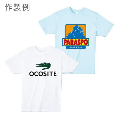 パロディーロゴティシャツ作成例7